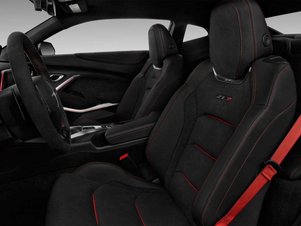2017 Chevrolet Camaro 2-door Coupe ZL1 Front Seats
