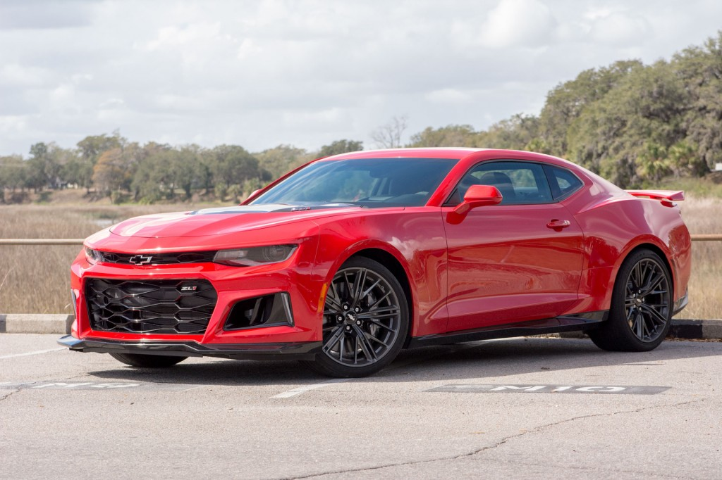 2017 Chevrolet Camaro Zl1 First Drive Review Too Fast To Be Fun