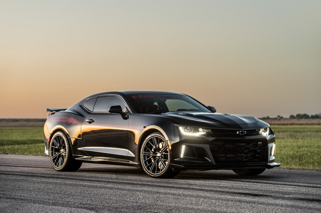 Hennessey Exorcist Camaro ZL1 1LE owner gets the ride of his life