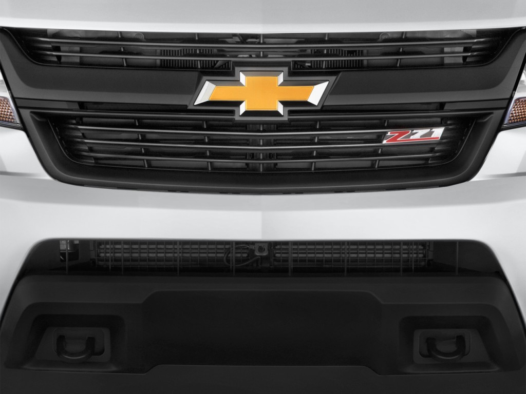 "Image: 2017 Chevrolet Colorado 4WD Crew Cab 128.3"" Z71 Grille, size: 1024 x 768, type: gif ..."