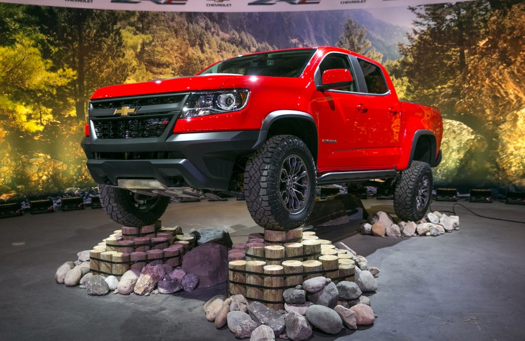 2017 Chevrolet Colorado Zr2 Is Your Mid Size Off Road Truck
