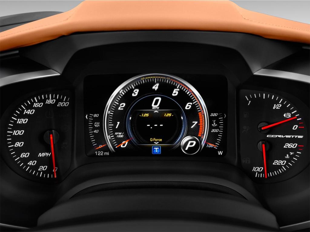 Chevrolet Corvette Door Grand Sport Coupe W Lt Instrument Cluster L