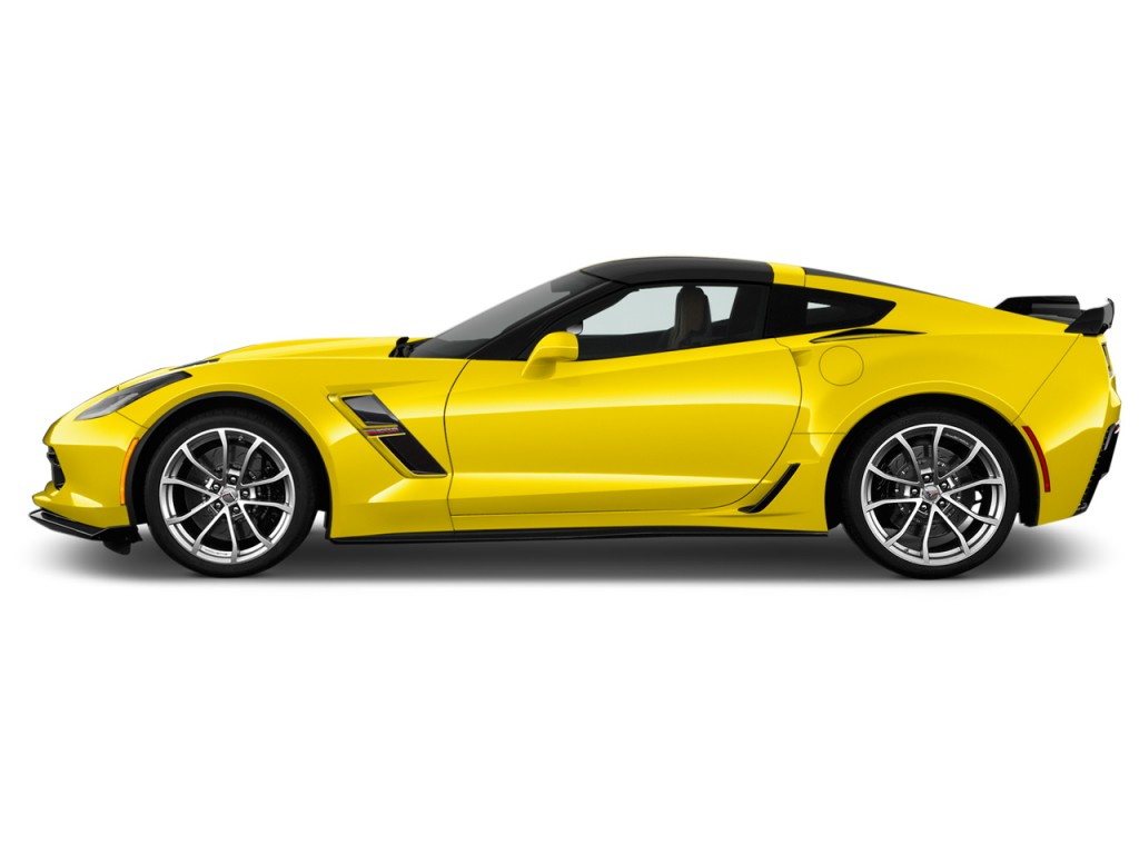 Image 2017 Chevrolet Corvette 2 Door Grand Sport Coupe W 2lt Side Exterior View Size 1024 X