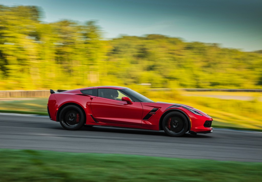 Image 2017 Chevrolet Corvette Grand Sport Red Size