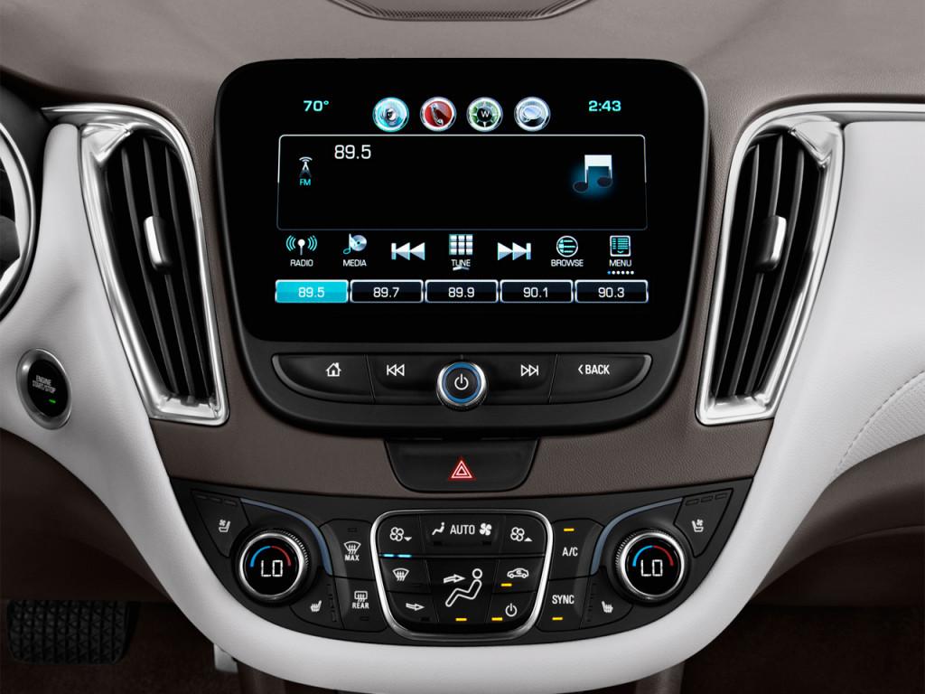 2017 Chevy Malibu Premier >> Image: 2017 Chevrolet Malibu 4-door Sedan Premier w/2LZ Audio System, size: 1024 x 768, type ...