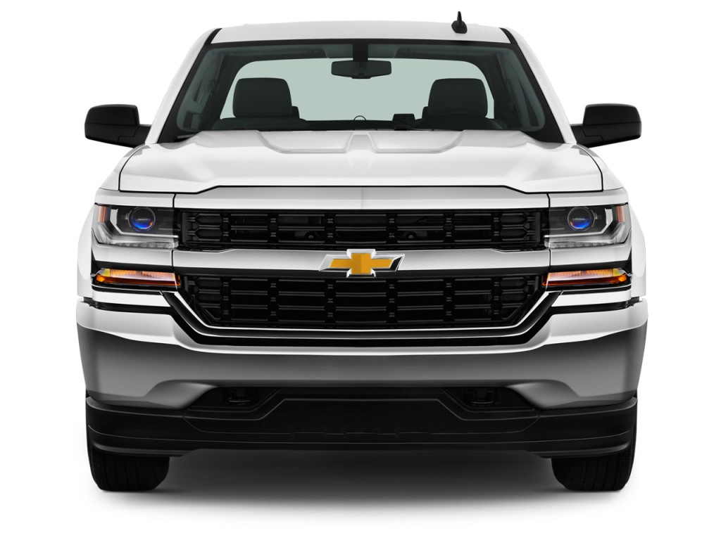 image 2017 chevrolet silverado 1500 2wd crew cab 143 5 ls front exterior view size 1024 x. Black Bedroom Furniture Sets. Home Design Ideas