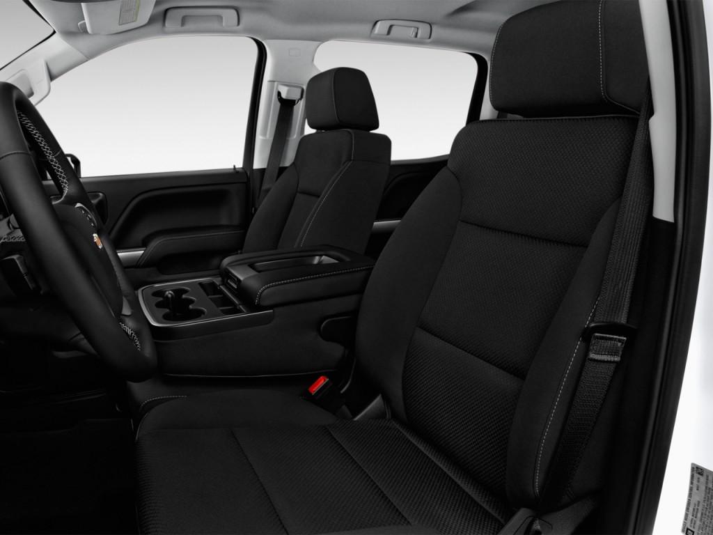 Image: 2017 Chevrolet Silverado 1500 2WD Crew Cab 143.5 ...