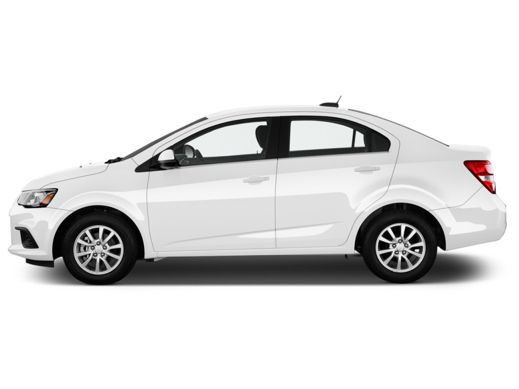 Image 2017 Chevrolet Sonic 4 Door Sedan Auto Lt Side