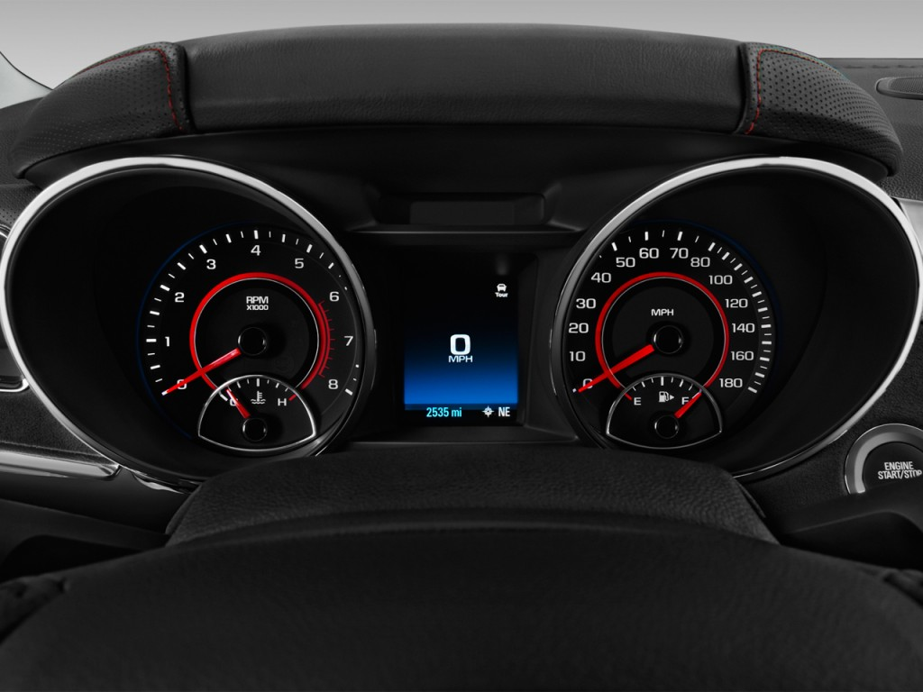 Image 2017 Chevrolet Ss 4 Door Sedan Instrument Cluster