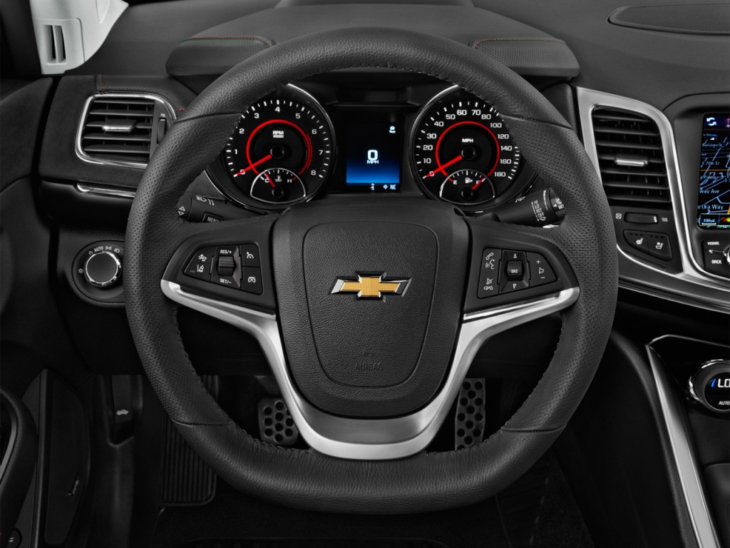 Image: 2017 Chevrolet SS 4-door Sedan Steering Wheel, size: 1024 x 768, type: gif, posted on ...