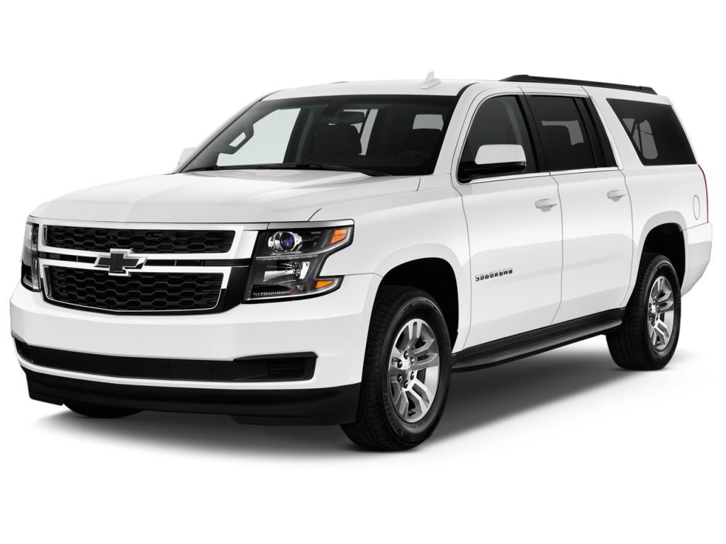 Image: 2017 Chevrolet Suburban 2WD 4-door 1500 LS Angular Front Exterior View, size: 1024 x 768 ...