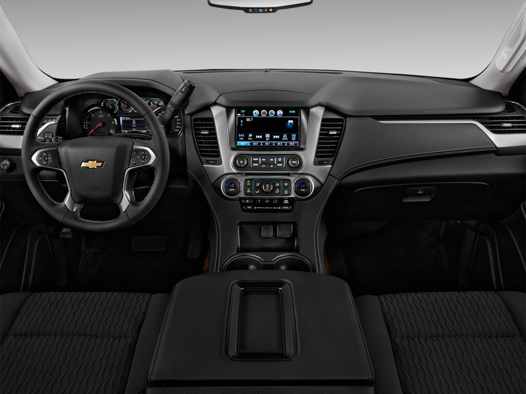Image: 2017 Chevrolet Suburban 2WD 4-door 1500 LS Dashboard, size: 1024 x 768, type: gif, posted ...
