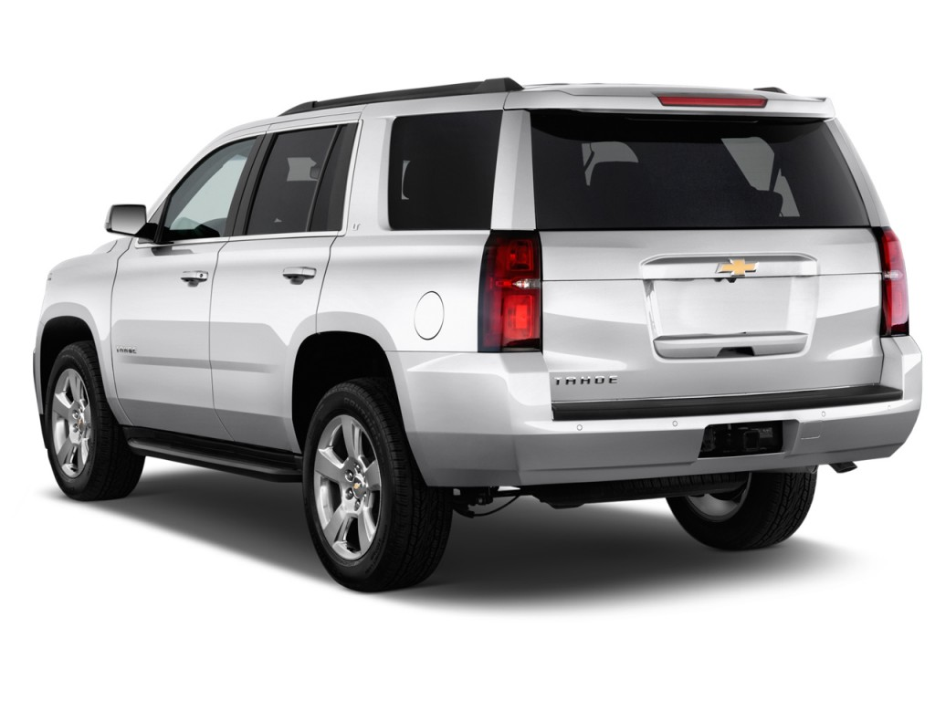 Image: 2017 Chevrolet Tahoe 2WD 4-door LT Angular Rear ...
