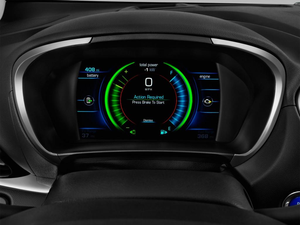 Image: 2017 Chevrolet Volt 5dr HB Premier Instrument Cluster, size: 1024 x 768, type: gif ...