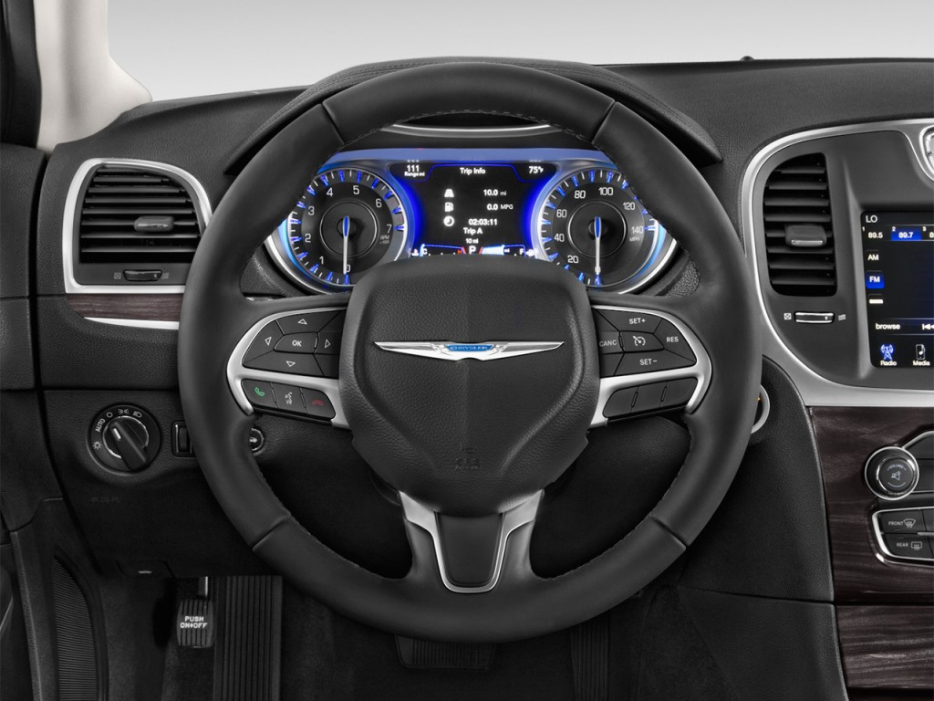 Car Buying App >> Image: 2017 Chrysler 300 Limited RWD Steering Wheel, size: 1024 x 768, type: gif, posted on ...