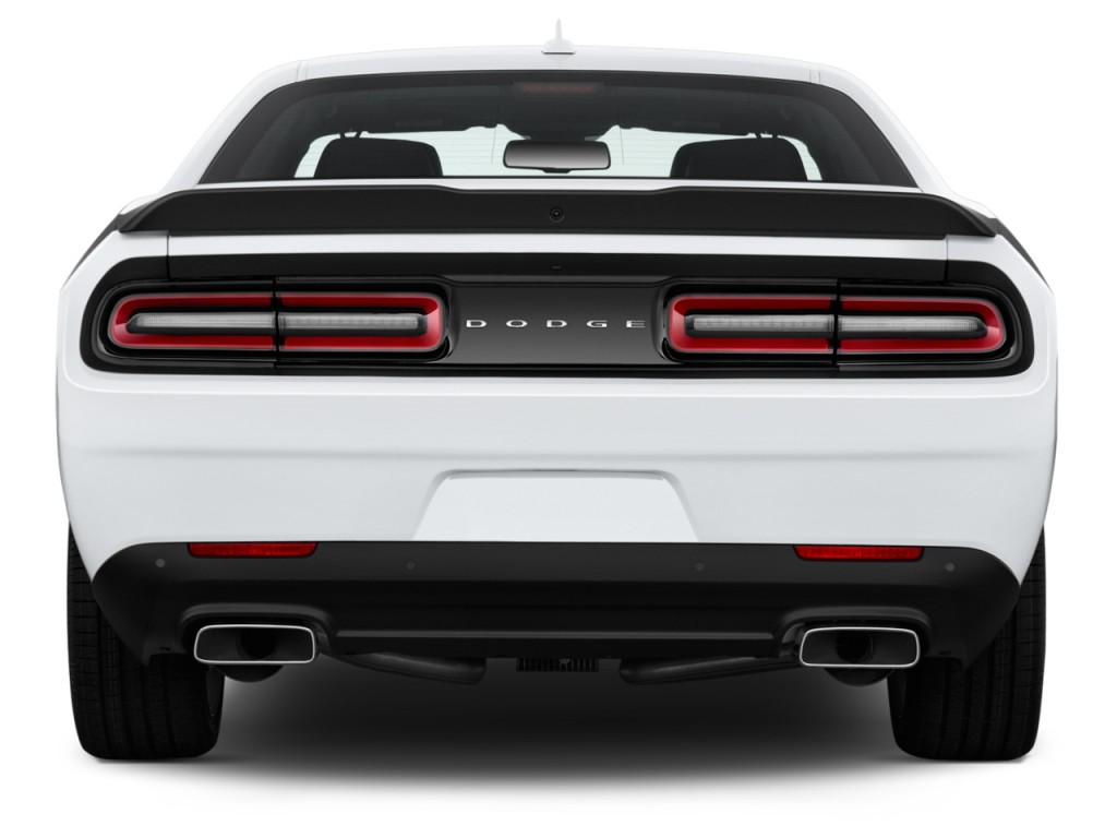 image 2017 dodge challenger r t scat pack coupe rear exterior view size 1024 x 768 type gif. Black Bedroom Furniture Sets. Home Design Ideas