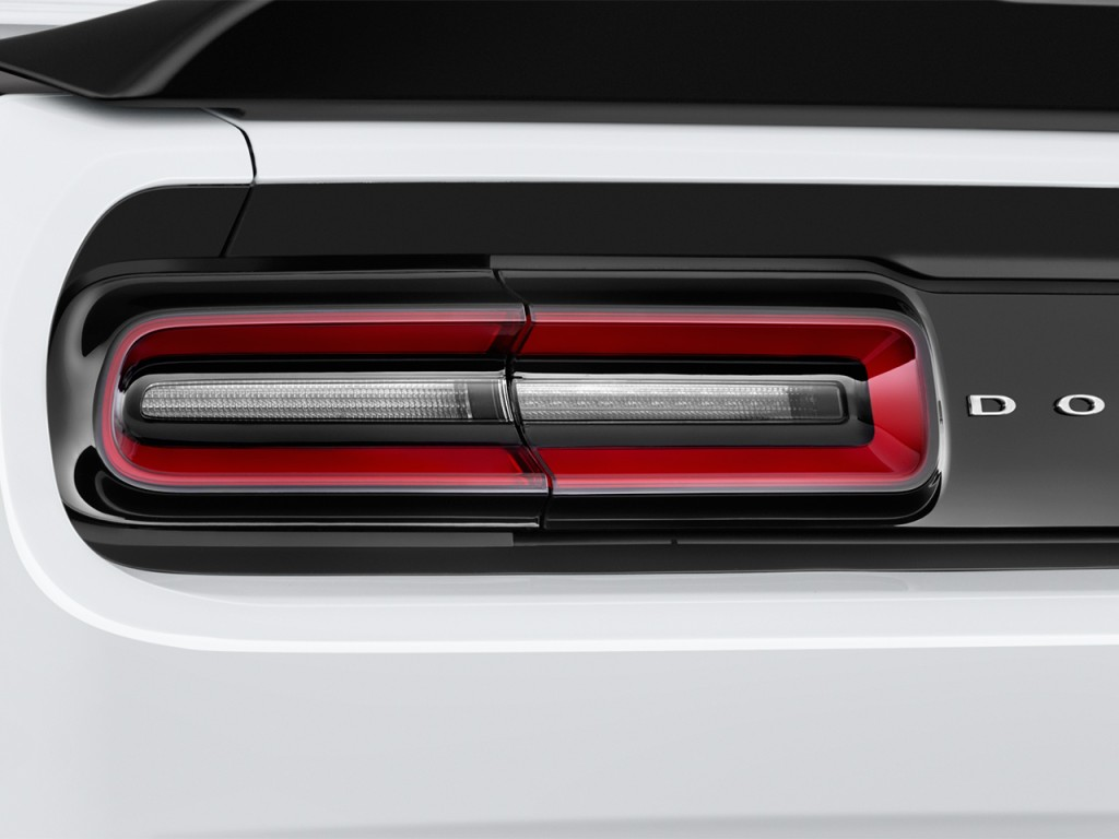 Image 2017 Dodge Challenger R T Scat Pack Coupe Tail