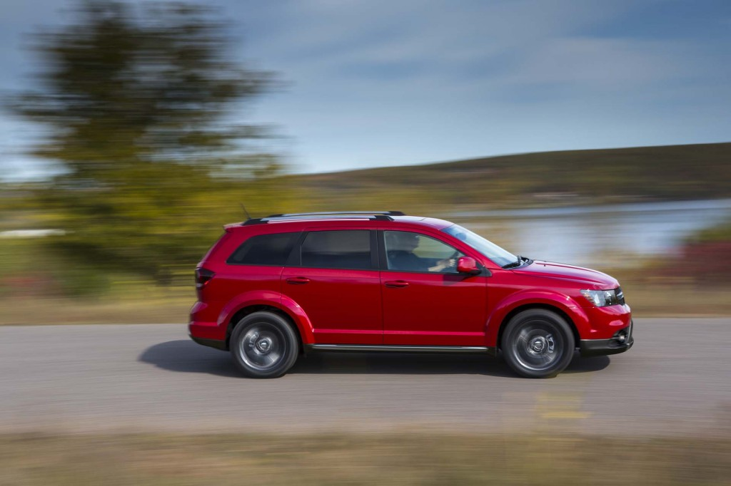 2017 Dodge Journey Review Ratings Specs Prices And Photos The Car Connection