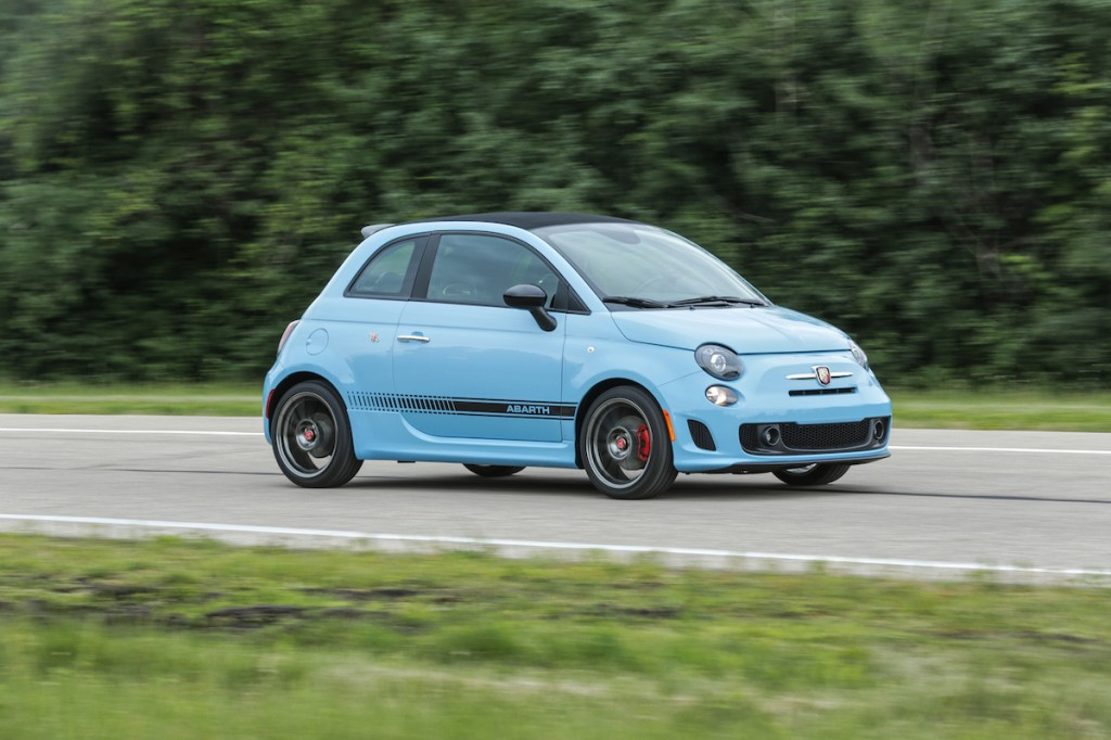 The Fiat 500 is dead in the US