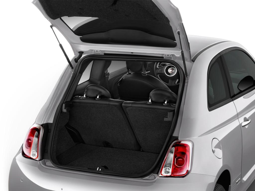 Image 2017 Fiat 500e Hatch Trunk Size 1024 X 768 Type