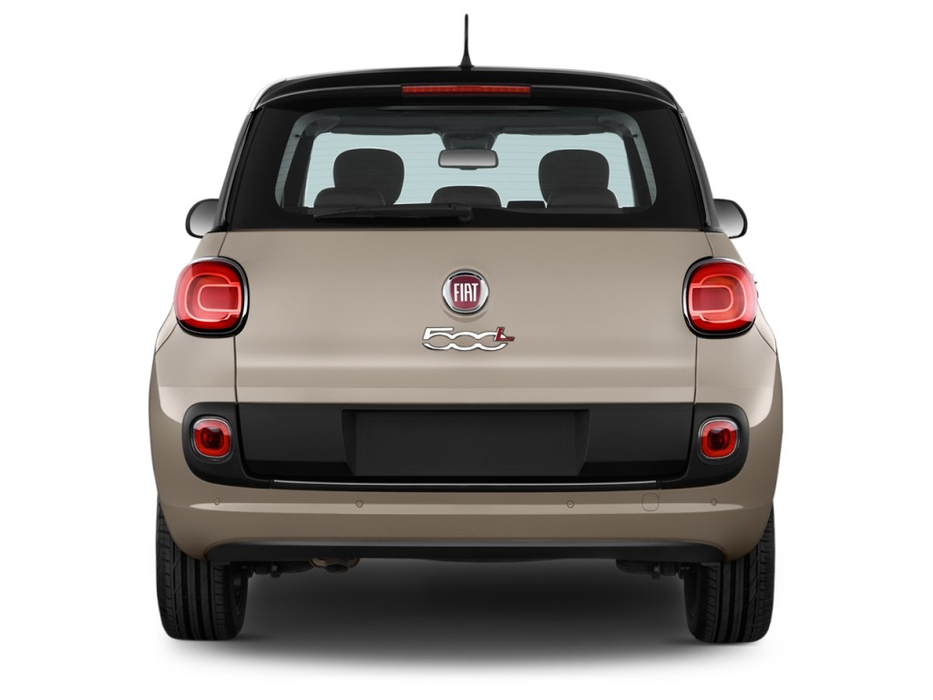 image 2017 fiat 500l lounge hatch rear exterior view. Black Bedroom Furniture Sets. Home Design Ideas