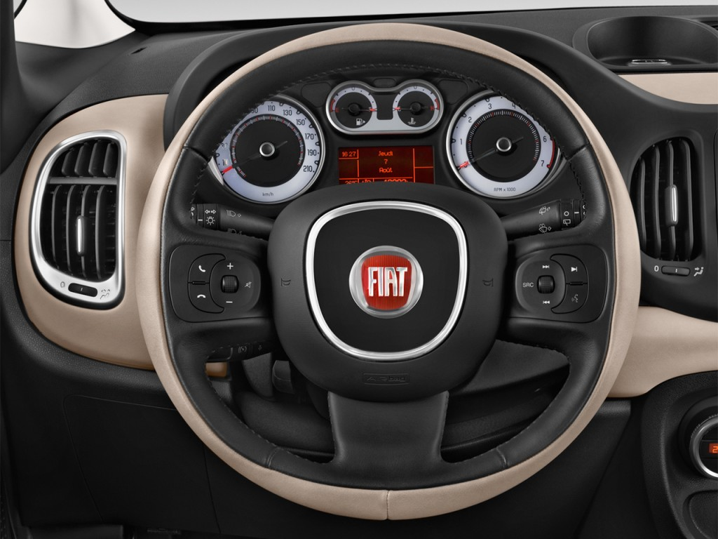 image 2017 fiat 500l lounge hatch steering wheel size 1024 x 768 type gif posted on march. Black Bedroom Furniture Sets. Home Design Ideas