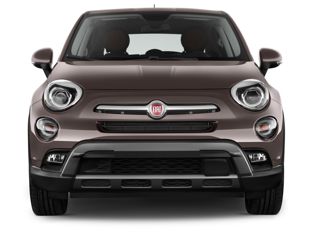 Image 2017 fiat 500x trekking fwd front exterior view for Fiat 500x exterior