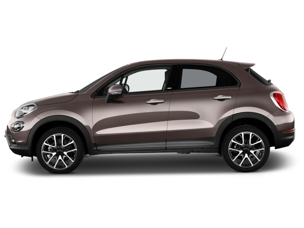 Image 2017 fiat 500x trekking fwd side exterior view for Fiat 500x exterior