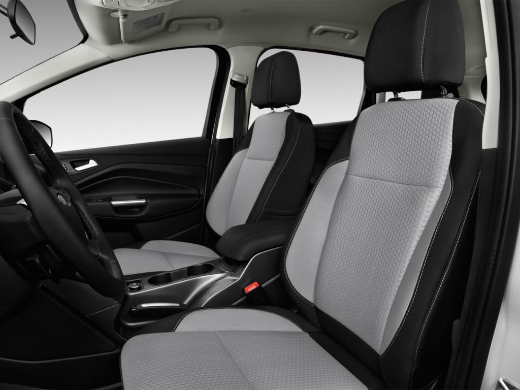 image 2017 ford c max hybrid se fwd front seats size. Black Bedroom Furniture Sets. Home Design Ideas