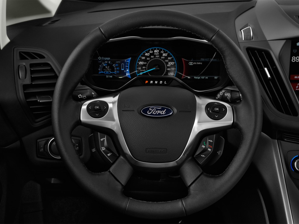 image 2017 ford c max hybrid se fwd steering wheel size 1024 x 768 type gif posted on. Black Bedroom Furniture Sets. Home Design Ideas