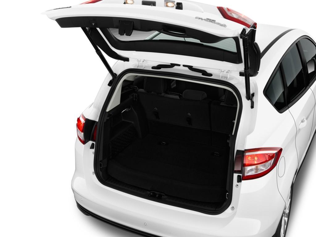 image 2017 ford c max hybrid se fwd trunk size 1024 x. Black Bedroom Furniture Sets. Home Design Ideas