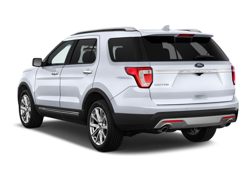 Image: 2017 Ford Explorer Limited 4WD Angular Rear ...