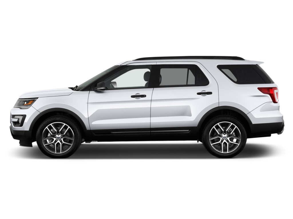 Image: 2017 Ford Explorer Sport 4WD Side Exterior View ...