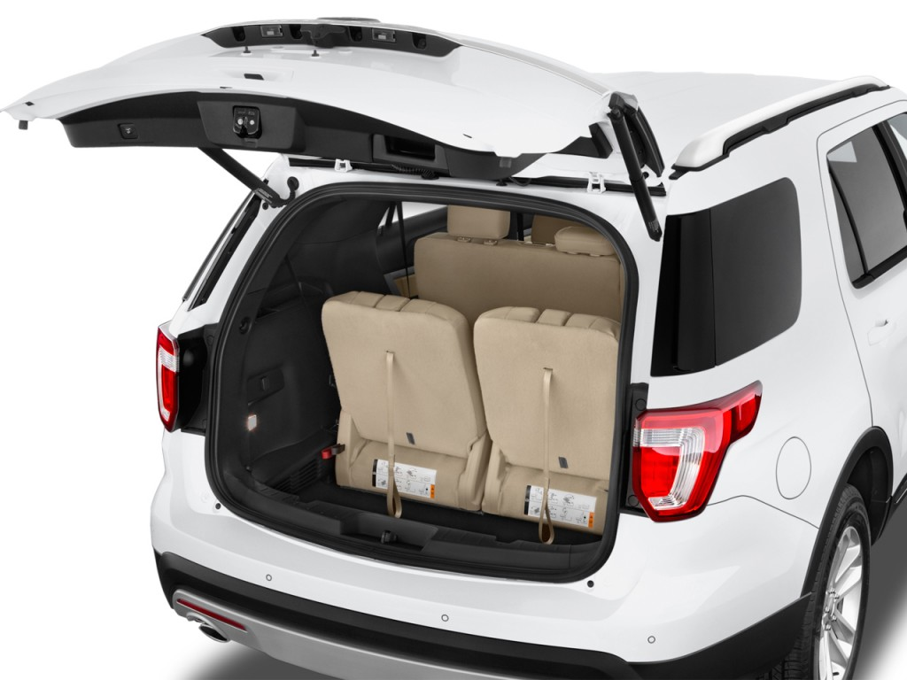 Ford Transit Cutaway >> Image: 2017 Ford Explorer XLT FWD Trunk, size: 1024 x 768, type: gif, posted on: October 6, 2016 ...