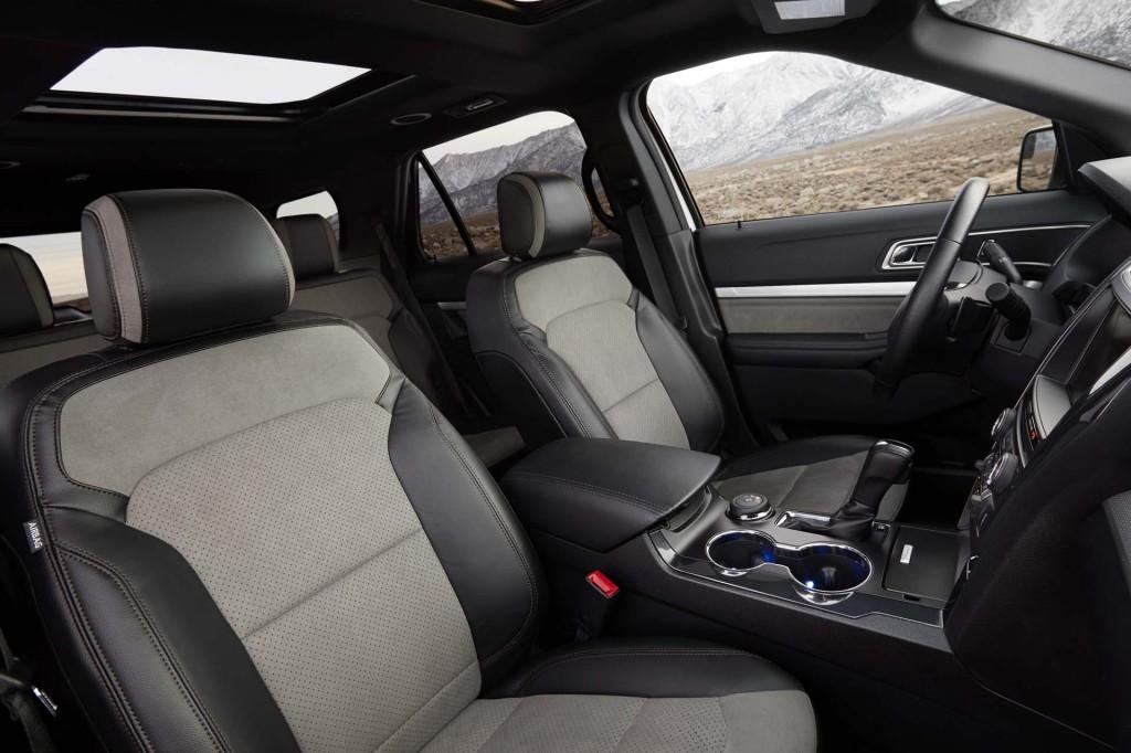 2017 Ford Explorer recalled for sharp seat edges