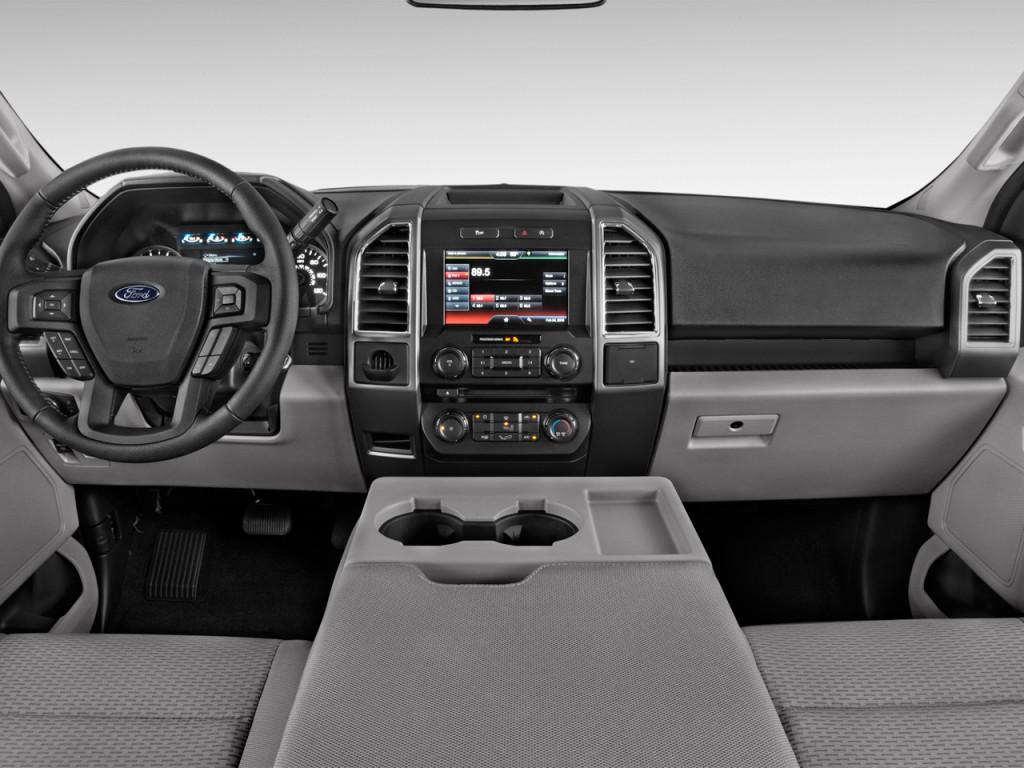 Image: 2017 Ford F-150 XLT 2WD SuperCab 6.5' Box Dashboard ...