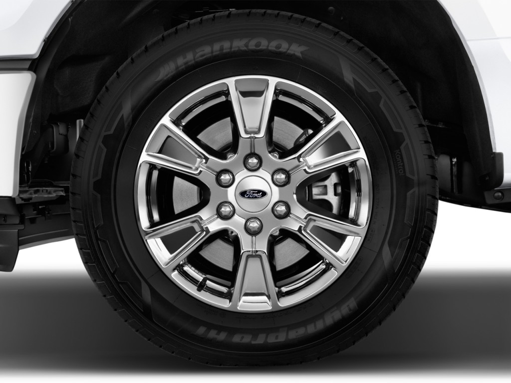 Image: 2017 Ford F-150 XLT 2WD SuperCrew 5.5' Box Wheel Cap, size: 1024 x 768, type: gif, posted ...