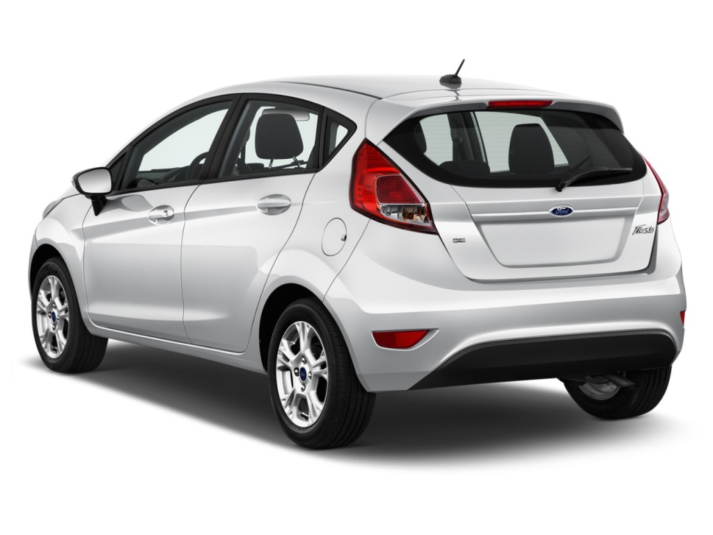 Image: 2017 Ford Fiesta SE Hatch Angular Rear Exterior View, size: 1024 x 768, type: gif, posted ...