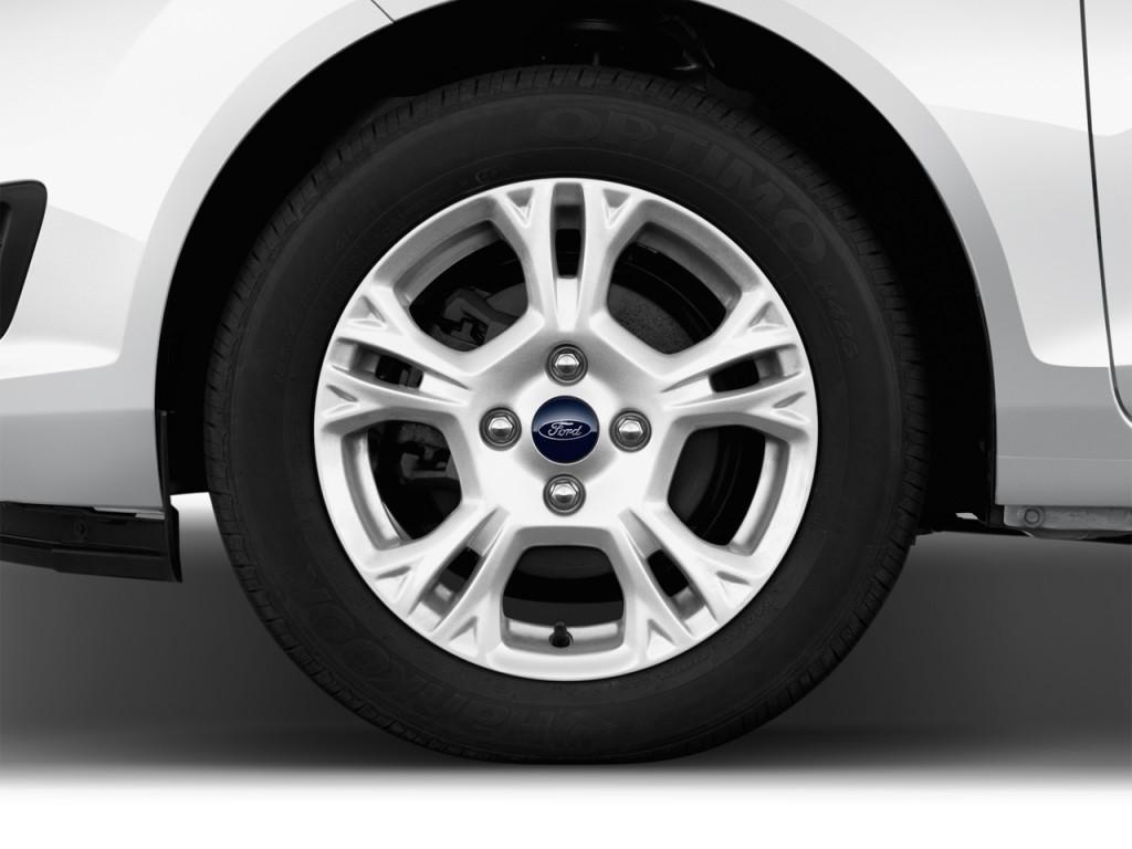 Image: 2017 Ford Fiesta SE Hatch Wheel Cap, size: 1024 x ...