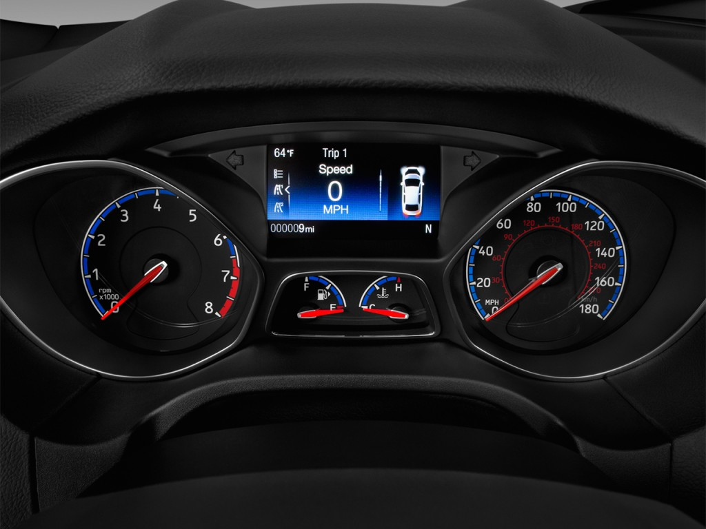 Image: 2017 Ford Focus RS Hatch Instrument Cluster, size ...