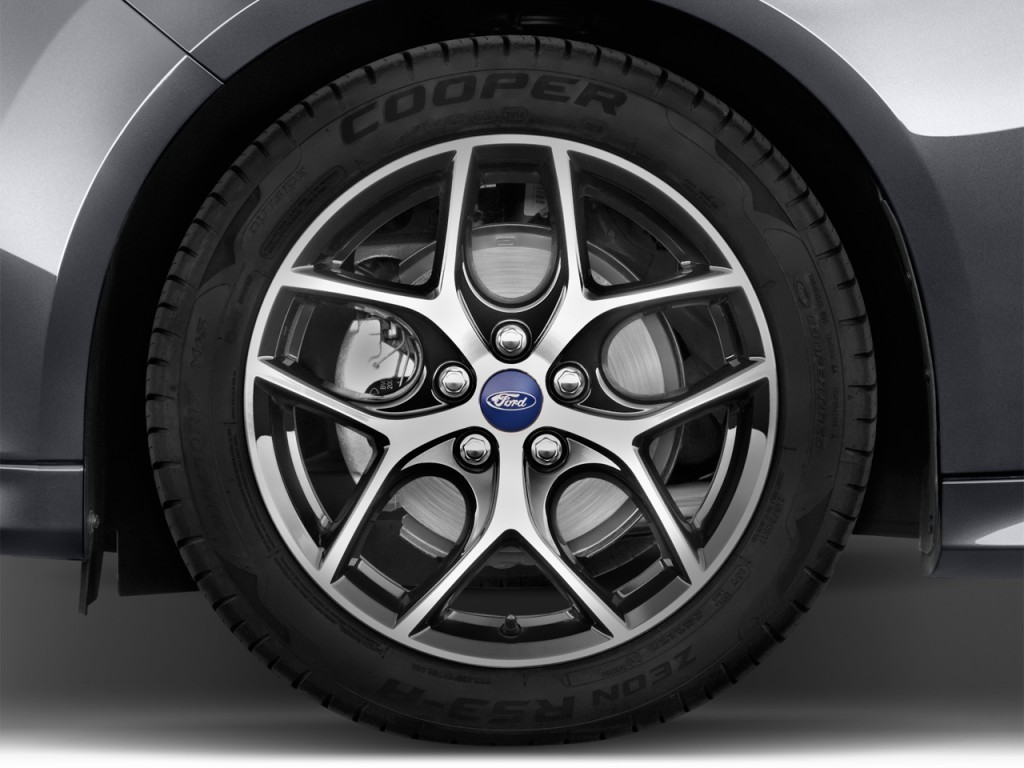 Image: 2017 Ford Focus SE Hatch Wheel Cap, size: 1024 x ...