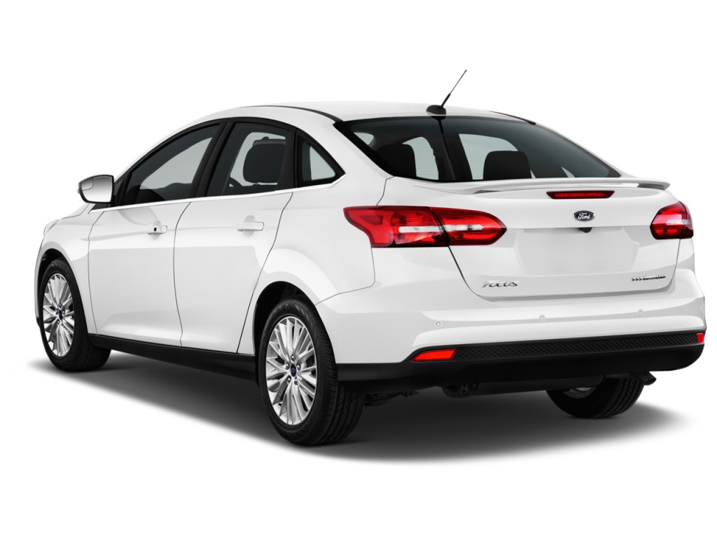 Image 2017 Ford Focus Titanium Sedan Angular Rear