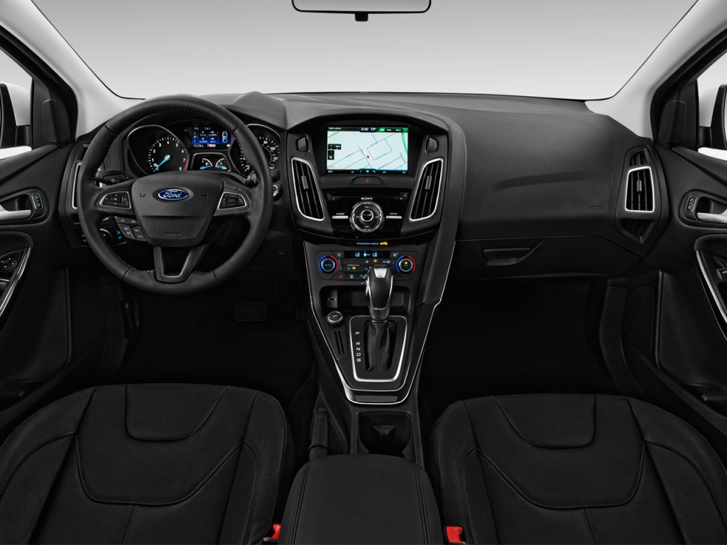 Image: 2017 Ford Focus Titanium Sedan Dashboard, size ...