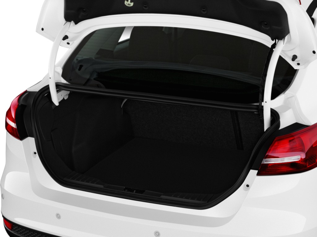 Challenger Scat Pack >> Image: 2017 Ford Focus Titanium Sedan Trunk, size: 1024 x 768, type: gif, posted on: May 10 ...