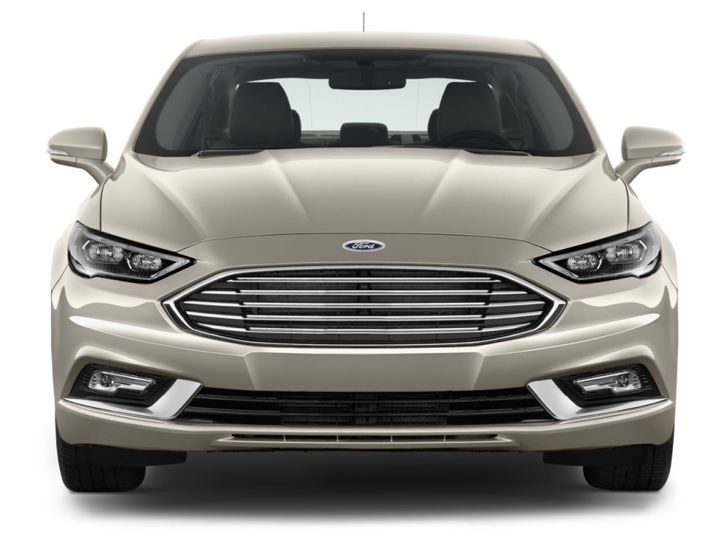 Image 2017 Ford Fusion Energi Se Sedan Front Exterior