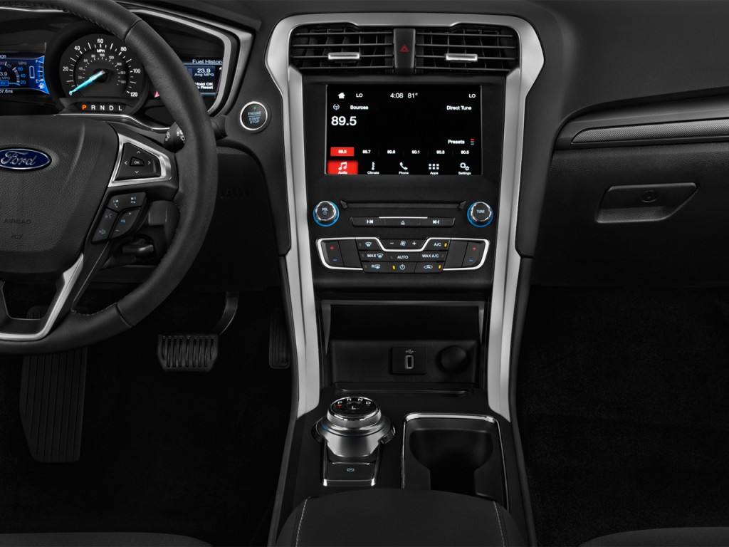 Ford Fusion Hybrid For Sale >> Image: 2017 Ford Fusion Hybrid SE FWD Instrument Panel, size: 1024 x 768, type: gif, posted on ...