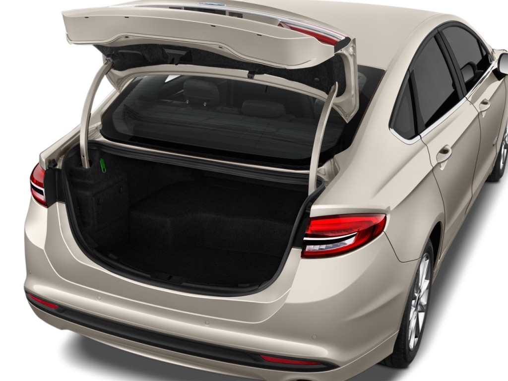 Image 2017 Ford Fusion Hybrid Se Fwd Trunk Size 1024 X