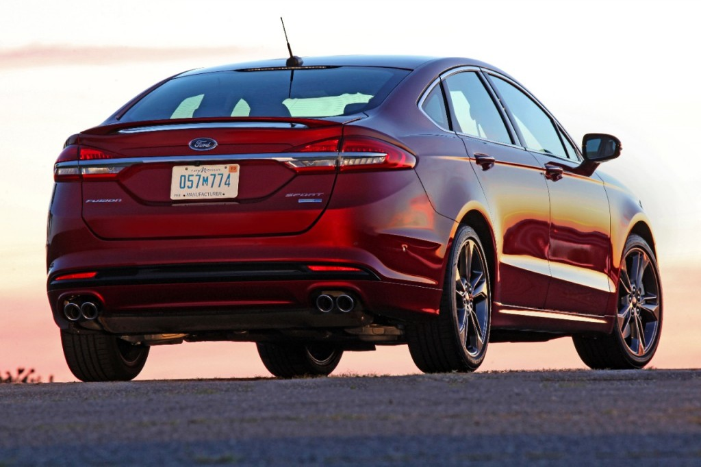 Image 2017 Ford Fusion Sport Size 1024 X 682 Type Gif
