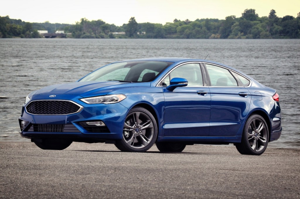2017 Ford Fusion Sport first drive review Mainstream goes premium