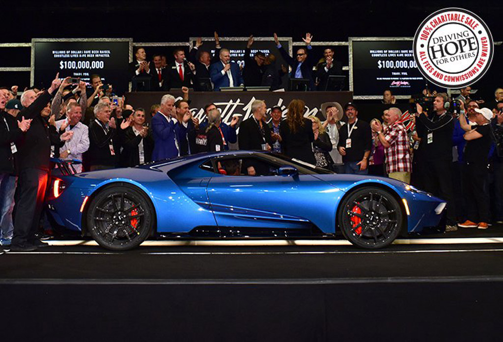 Ford Gt And First Retail  Mustang Bullitt Bring Big Bucks At Auction